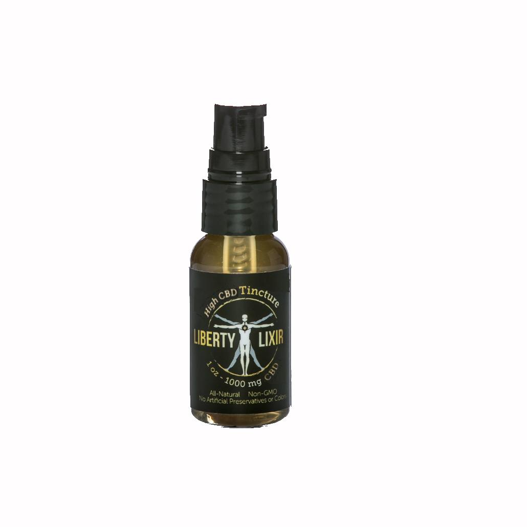 Liberty Lixir Full Spectrum 1000mg | 1oz | CBD Tincture